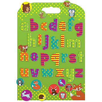 Fiesta Crafts Stickabouts Woodland Alphabet