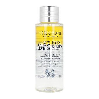 Facial Make Up Remover Bi-Phase Yeux & Levres L'occitane (100 ml)