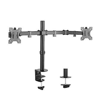 Brateck Dual Monitor Economy Steel Monitor Arm 13 To 32 Inches