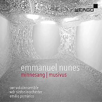 Minnesang / Musivus [CD] USA import