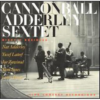 Cannonball Adderley - Dizzy's Business [CD] USA import