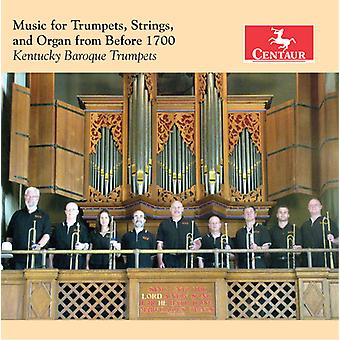 Albertini / Bendinelli / Kentucky Baroque Trumpets - Music for Trumpets / Strings & Organ [CD] USA import