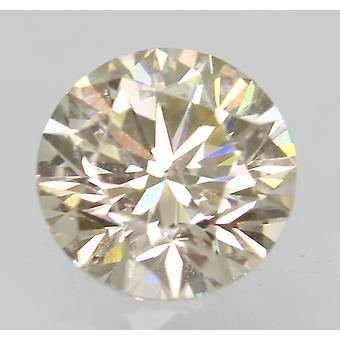 Certified 0.71 Carat J VVS1 Round Brilliant Natural Loose Diamond 5.63mm 3EX