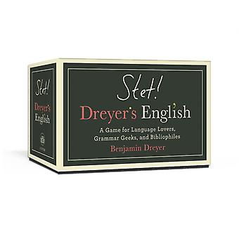 STET Dreyers Game of English  A Game for Language Lovers Grammar Geeks and Bibliophiles by Benjamin Dreyer