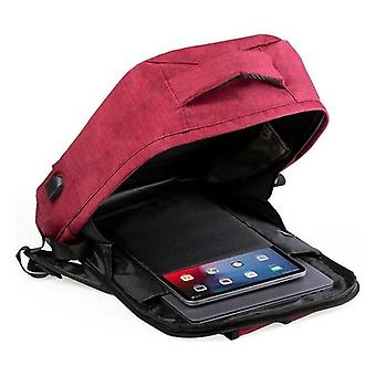 Anti-theft Rucksack with USB, Blue