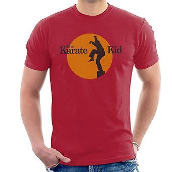 Karate Kid Sunset Silhouette Men's T-Shirt
