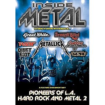 Inside Metal: Pioneers of L.a. Hard Rock & Metal 2 [DVD] USA import