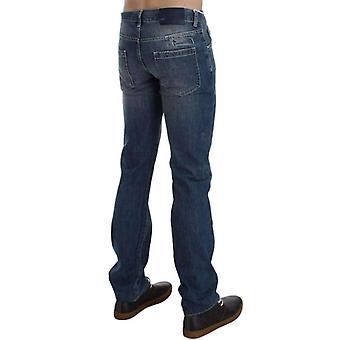 Blue Wash katoen regular fit jeans--SIG3578629