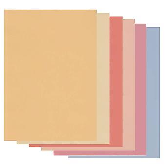 Groovi Parchment Paper A4 Soft Tones Mixed Pack