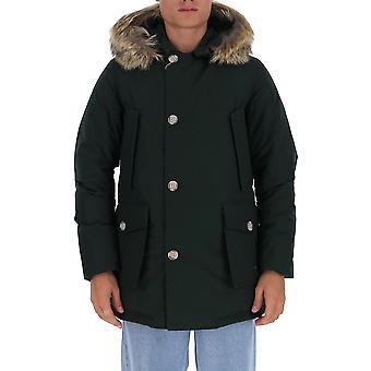 Woolrich Woou0270mrut0108dhg Men's Vihreä Nailon Päällysvaatteet Takki