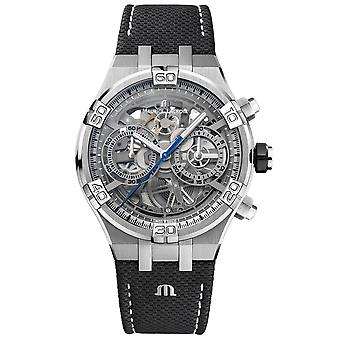 Maurice Lacroix AI6098-SS001-090-1 Homme-apos;s Aikon Automatique Skeleton Montre-bracelet
