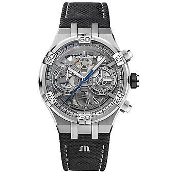 Maurice Lacroix AI6098-SS001-090-1 Men's Aikon Automatic Skeleton Wristwatch