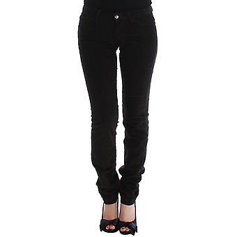 Dolce & Gabbana Brown Cute Corduroy Slim Skinny Casual Pants SIG13237-1