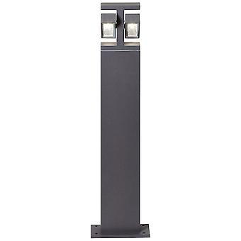 Lampada AEG Glynn LED Lampada outdoor Stand 2flg antracite 2x 7W LED integrato, (700lm, 3000K) Scala da A a E Tipo di protezione IP: