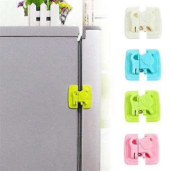 Home Refrigerator Freezer Door Baby Care Locks- Cartoon Shape Cupboard Drawer Cabinet Safety Lock