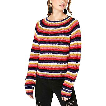 Crave Fame by Almost Famous | Fluffy Striped Sweater