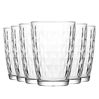 LAV Artemis Highball Cocktail Tumbler Bril 415ml - Pack van 6 Highball Glazen voor cocktails