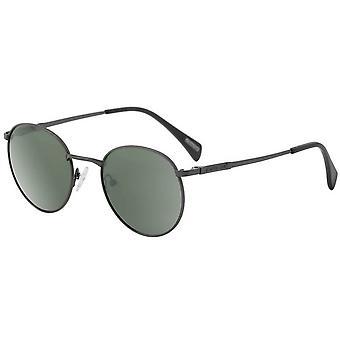 Dirty Dog Sneak Satin Polarised Sunglasses - Gunmetal Grey/Green