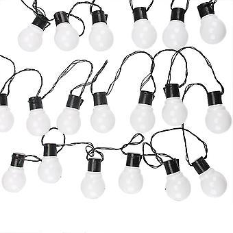 Led String Venkovní víla světla, Garland G50 Žárovky Zahradní Patio Svatba
