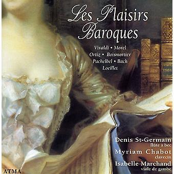 Vivaldi/Morel/Ortiz/Bach-Les Plaisirs Baroques [CD] USA import