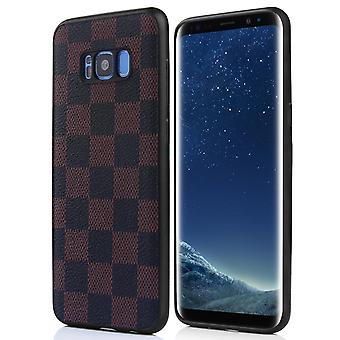 Leather Case for Huawei Mate 20 Pro Brown&Black honghaowei-661