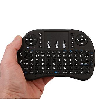 REYTID 2.4ghz Wireless Smart iKeyboard con DPI Touchpad para juegos Smartphones TV Android Google frambuesa PI