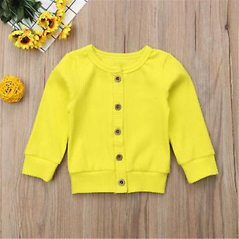 Newborn  Baby, Knitted Long Sleeve Autumn Sweater, Casual Tops Kids Clothes