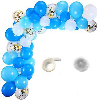 Sassier - Ballongbåge 100 Ballonger + Limduttar och Ballongband