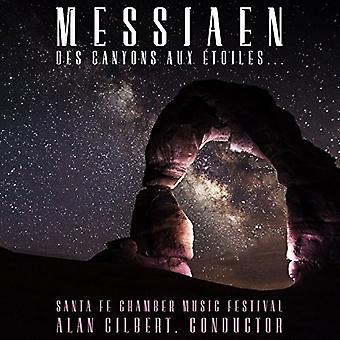 Santa Fe Chamber Music Festival - Messaien: Des Canyons Aux ?Toiles [CD] USA import