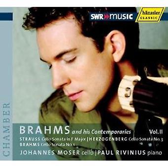 J. Brahms - Brahms and His Contemporaries, Vol. 2 [CD] USA import