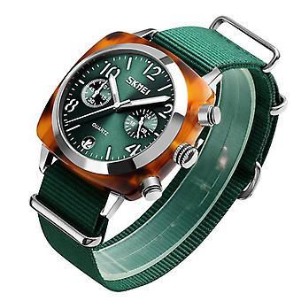 SKMEI 9186 Design unique Multi-dial Lumineux Imperméable à l'eau femmes Montre-bracelet Quartz