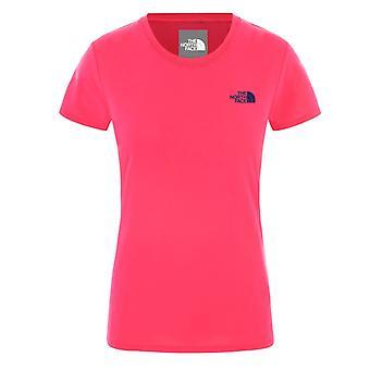 Die Nordgesicht Triblend Mädchen Scoop Neck Fashion Casual T-Shirt Top T-Shirt rosa