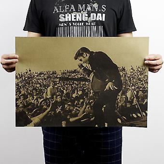 Nostalgic Rock Star Elvis Presley Vintage Classic Poster