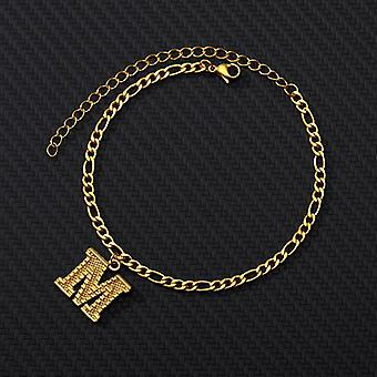 Armband, Initial Letter Ankletwomen Schmuck