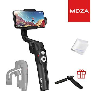 Moza mini-s 3-akselinen gimbal stabilointiaine älypuhelimeen iphone xr xr xs vlog youtuber live video record f