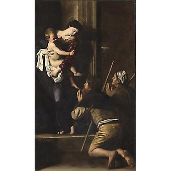 Madonna Di Loreto Poster drucken