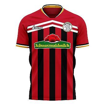Freiburg 2020-2021 Home Concept Football Kit (Libero)