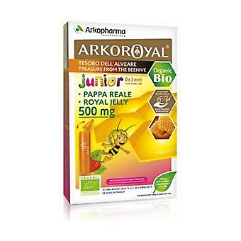 Orgaaninen Royal Jelly 500mg 20 injektiopulloa 10ml