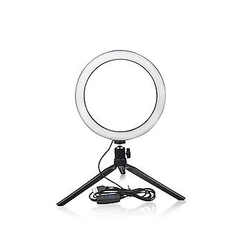 Lámpara de anillo selfie de luz led, fotografía novedosa video live studio light