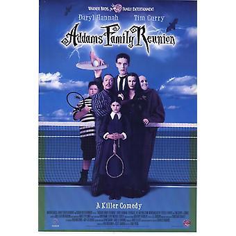 Аддамс воссоединение семьи фильм плакат печать (27 x 40)