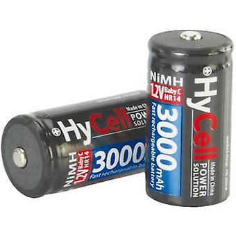 HyCell HR14 C batéria (nabíjateľná) NiMH 3000 mAh 1,2 V 2 ks (s)