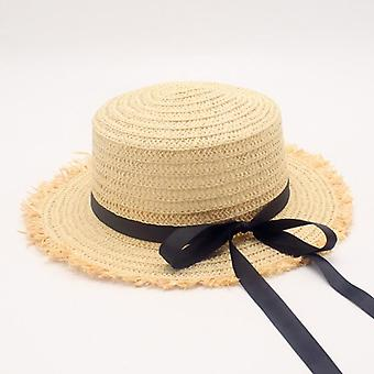 Hot Sale Flat High Sun Hat Printemps Printemps Femmes & s Travel Caps Bandages Beach