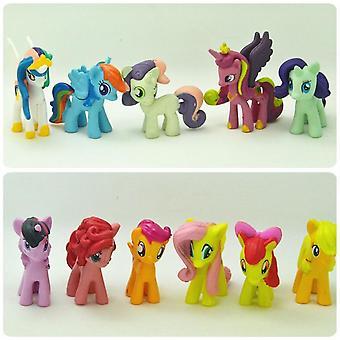 My Little Pony Set, Pvc Action Figures Dolls