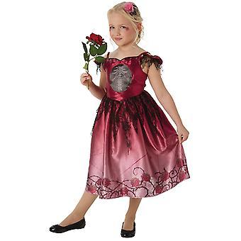 Bristol Novelty Girls Rags & Roses Costume