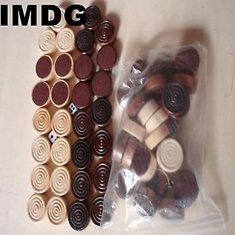 30pcs / Set Foreign Trade Selling Wooden Chess Accessories Chess Backgammon