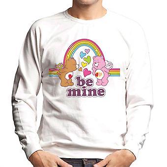 Care Bears Valentines Be Mine Men's Sweatshirt