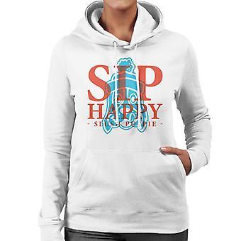 Slush Puppie Sip Happy Women's Hooded Sweatshirt