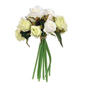 Bouquet Roses White/cream