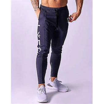 Men Sweatpants Gym Running Pants, Mens Fitness Bodybuilding Gym Jogging Pants