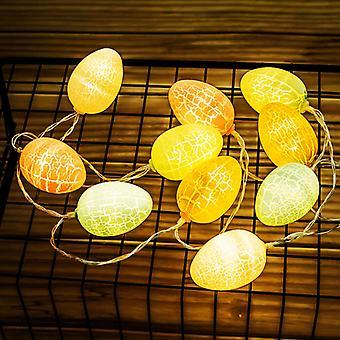 Ostern Dekorationen für Haus Ei Led String Licht Ostern Fee String Lichter Hochzeit Party Ornament Girlande